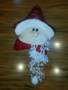 hot glue santa